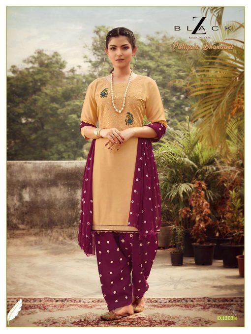 Z Black Patiyala Bhandani Readymade Salwar Suit Wholesale Catalog 6 Pcs 4 510x680 - Z Black Patiyala Bhandani Readymade Salwar Suit Wholesale Catalog 6 Pcs