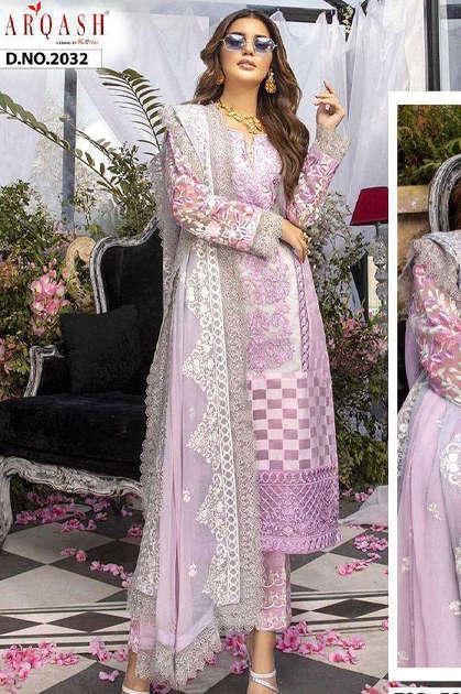 Zarqash Azure by Khayyira Salwar Suit Wholesale Catalog 5 Pcs