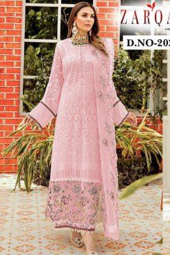 Zarqash Block Buster Hit Vol 4 by Khayyira Salwar Suit Wholesale Catalog 5 Pcs