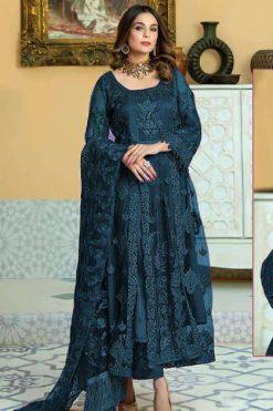 Zarqash Firdous by Khayyira Salwar Suit Wholesale Catalog 4 Pcs