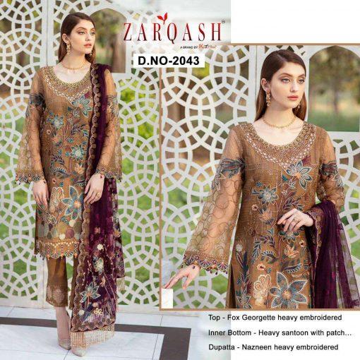Zarqash Minhal by Khayyira Salwar Suit Wholesale Catalog 5 Pcs 6 510x510 - Zarqash Minhal by Khayyira Salwar Suit Wholesale Catalog 5 Pcs