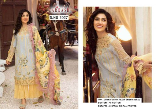 Zarqash Mushq by Khayyira Salwar Suit Wholesale Catalog 4 Pcs 2 510x357 - Zarqash Mushq by Khayyira Salwar Suit Wholesale Catalog 4 Pcs