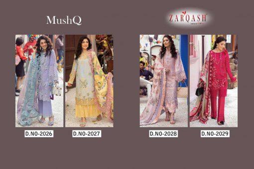 Zarqash Mushq by Khayyira Salwar Suit Wholesale Catalog 4 Pcs 6 510x340 - Zarqash Mushq by Khayyira Salwar Suit Wholesale Catalog 4 Pcs