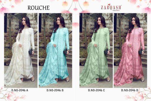 Zarqash Rouche by Khayyira Salwar Suit Wholesale Catalog 4 Pcs 10 510x340 - Zarqash Rouche by Khayyira Salwar Suit Wholesale Catalog 4 Pcs