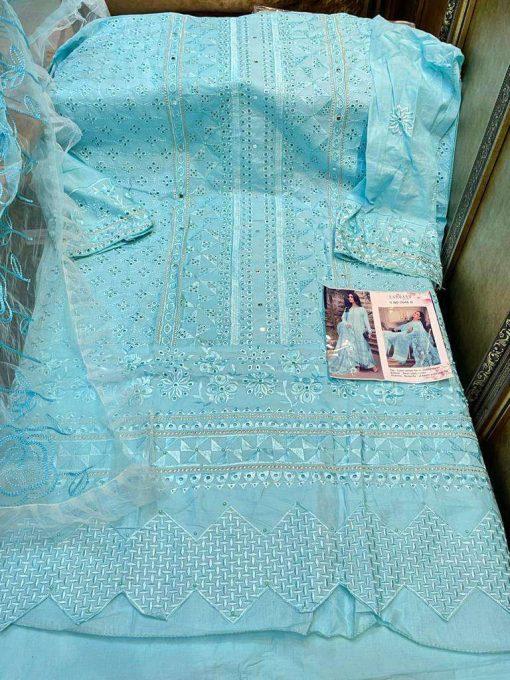 Zarqash Rouche by Khayyira Salwar Suit Wholesale Catalog 4 Pcs 3 510x680 - Zarqash Rouche by Khayyira Salwar Suit Wholesale Catalog 4 Pcs