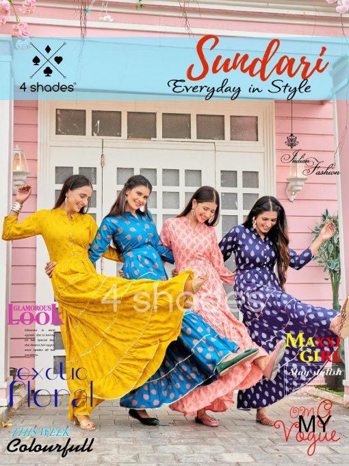 4 Shades Sundari Vol 1 by Blue Hills Kurti Wholesale Catalog 6 Pcs 2 510x680 - 4 Shades Sundari Vol 1 by Blue Hills Kurti Wholesale Catalog 6 Pcs