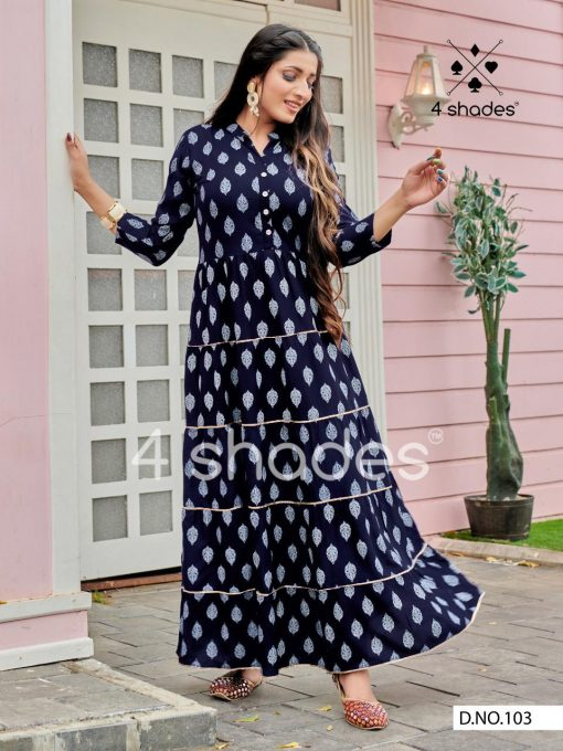 4 Shades Sundari Vol 1 by Blue Hills Kurti Wholesale Catalog 6 Pcs 4 510x680 - 4 Shades Sundari Vol 1 by Blue Hills Kurti Wholesale Catalog 6 Pcs