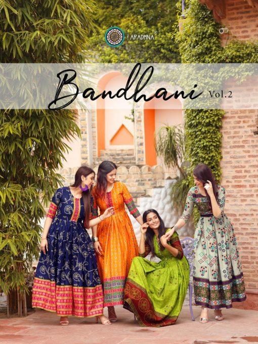Aradhna Bandhani Vol 2 Kurti Wholesale Catalog 13 Pcs 1 510x680 - Aradhna Bandhani Vol 2 Kurti Wholesale Catalog 13 Pcs