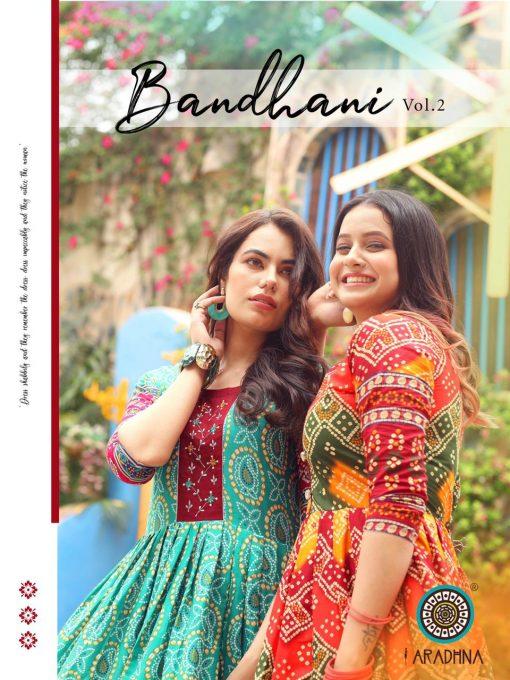 Aradhna Bandhani Vol 2 Kurti Wholesale Catalog 13 Pcs 2 510x680 - Aradhna Bandhani Vol 2 Kurti Wholesale Catalog 13 Pcs