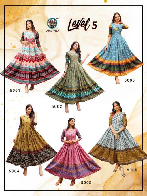 Aradhna Level Vol 5 Kurti Wholesale Catalog 12 Pcs 18 510x680 - Aradhna Level Vol 5 Kurti Wholesale Catalog 12 Pcs