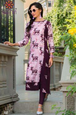 Baanvi Aarushi by Rani Kurti Wholesale Catalog 8 Pcs
