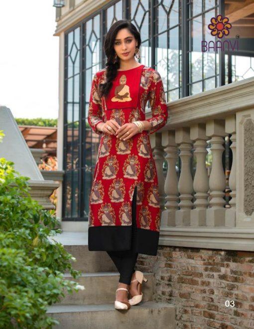 Baanvi Aarushi by Rani Kurti Wholesale Catalog 8 Pcs 6 510x660 - Baanvi Aarushi by Rani Kurti Wholesale Catalog 8 Pcs