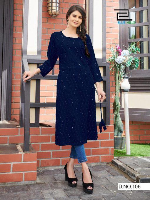 Blue Hills Elili Vol 1 Kurti Wholesale Catalog 8 Pcs 1 510x680 - Blue Hills Elili Vol 1 Kurti Wholesale Catalog 8 Pcs