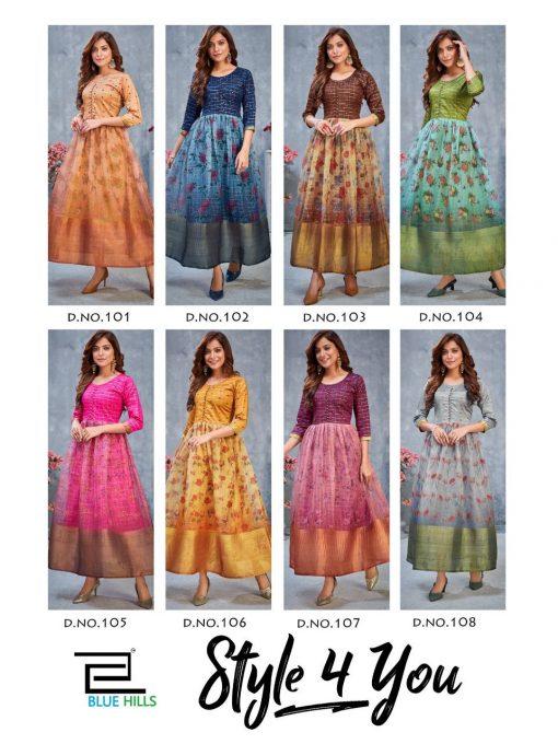 Blue Hills Style 4 You Vol 1 Kurti Wholesale Catalog 8 Pcs 10 510x680 - Blue Hills Style 4 You Vol 1 Kurti Wholesale Catalog 8 Pcs
