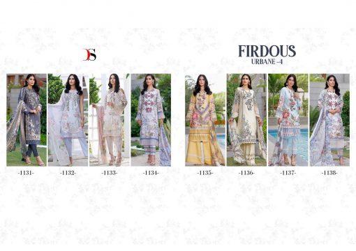 Deepsy Firdous Urbane Vol 4 Salwar Suit Wholesale Catalog 8 Pcs 10 510x360 - Deepsy Firdous Urbane Vol 4 Salwar Suit Wholesale Catalog 8 Pcs