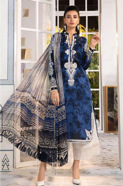 Deepsy Maria B M Print Vol 21 Salwar Suit Wholesale Catalog 8 Pcs