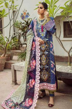 Deepsy Maryam Hussain Embroidered Collection Salwar Suit Wholesale Catalog 5 Pcs