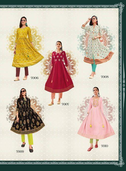 Diya Trends Ethnicity Vol 7 by Kajal Style Kurti Wholesale Catalog 10 Pcs 12 510x692 - Diya Trends Ethnicity Vol 7 by Kajal Style Kurti Wholesale Catalog 10 Pcs