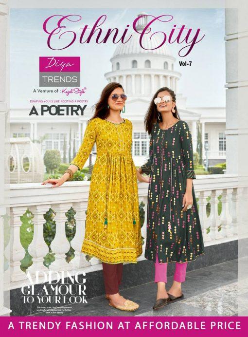 Diya Trends Ethnicity Vol 7 by Kajal Style Kurti Wholesale Catalog 10 Pcs 2 510x692 - Diya Trends Ethnicity Vol 7 by Kajal Style Kurti Wholesale Catalog 10 Pcs
