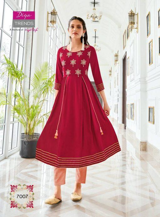 Diya Trends Ethnicity Vol 7 by Kajal Style Kurti Wholesale Catalog 10 Pcs 4 510x692 - Diya Trends Ethnicity Vol 7 by Kajal Style Kurti Wholesale Catalog 10 Pcs