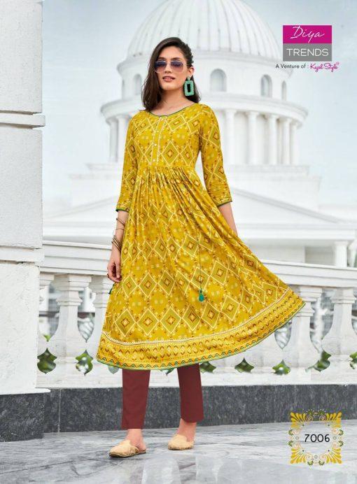 Diya Trends Ethnicity Vol 7 by Kajal Style Kurti Wholesale Catalog 10 Pcs 9 510x692 - Diya Trends Ethnicity Vol 7 by Kajal Style Kurti Wholesale Catalog 10 Pcs