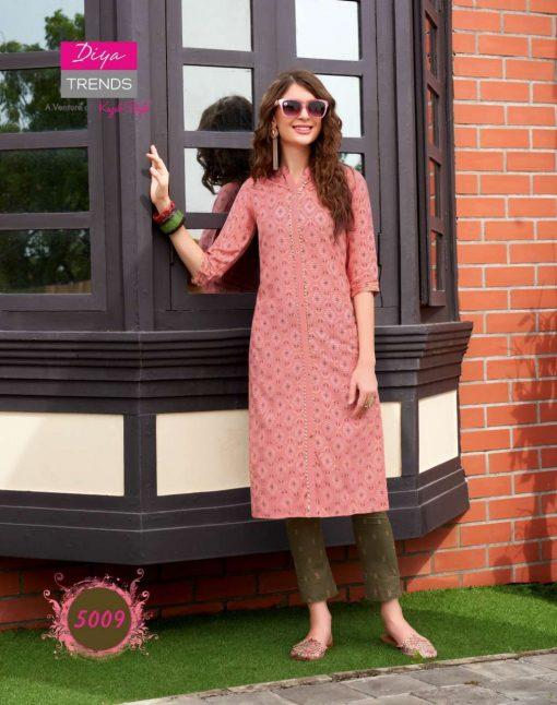 Diya Trends Fashionista Vol 1 by Kajal Style Kurti with Pant Wholesale Catalog 12 Pcs 11 510x646 - Diya Trends Fashionista Vol 1 by Kajal Style Kurti with Pant Wholesale Catalog 12 Pcs