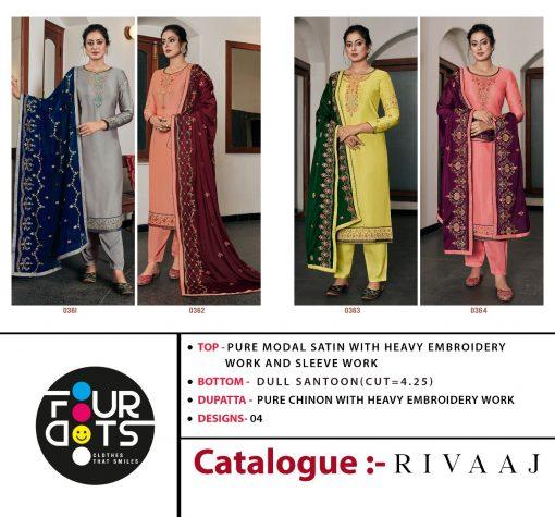 Four Dots Rivaaj by Kessi Salwar Suit Wholesale Catalog 4 Pcs 8 510x475 - Four Dots Rivaaj by Kessi Salwar Suit Wholesale Catalog 4 Pcs