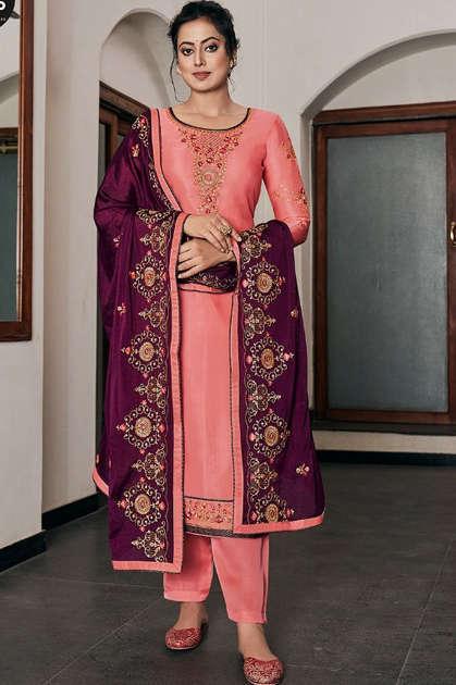Four Dots Rivaaj by Kessi Salwar Suit Wholesale Catalog 4 Pcs - Four Dots Rivaaj by Kessi Salwar Suit Wholesale Catalog 4 Pcs