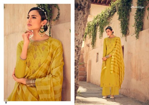 Hermitage Clothing Stripes of Gold Salwar Suit Wholesale Catalog 8 Pcs 3 510x360 - Hermitage Clothing Stripes of Gold Salwar Suit Wholesale Catalog 8 Pcs