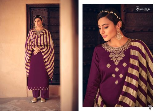 Hermitage Clothing Stripes of Gold Salwar Suit Wholesale Catalog 8 Pcs 8 510x360 - Hermitage Clothing Stripes of Gold Salwar Suit Wholesale Catalog 8 Pcs