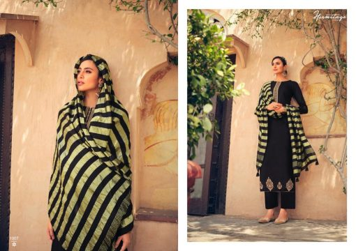 Hermitage Clothing Stripes of Gold Salwar Suit Wholesale Catalog 8 Pcs 9 510x360 - Hermitage Clothing Stripes of Gold Salwar Suit Wholesale Catalog 8 Pcs