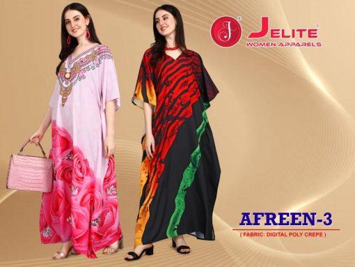 Jelite Afreen Kaftans Vol 3 Kurti Wholesale Catalog 8 Pcs 9 1 510x383 - Jelite Afreen Kaftans Vol 3 Kurti Wholesale Catalog 8 Pcs