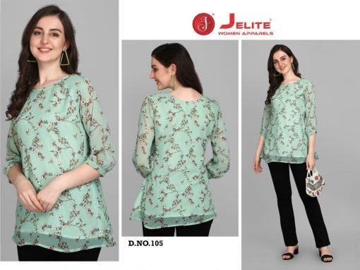 Jelite Georgette Tunics Vol 1 Tops Wholesale Catalog 6 Pcs 2 510x383 - Jelite Georgette Tunics Vol 1 Tops Wholesale Catalog 6 Pcs