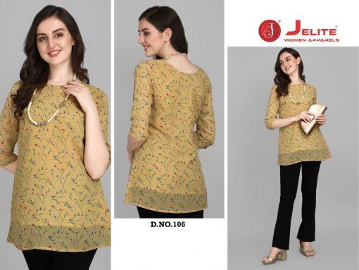 Jelite Georgette Tunics Vol 1 Tops Wholesale Catalog 6 Pcs 3 510x383 - Jelite Georgette Tunics Vol 1 Tops Wholesale Catalog 6 Pcs