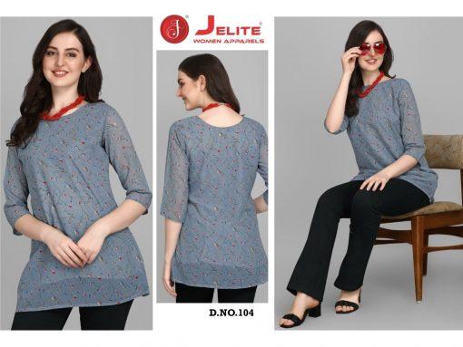 Jelite Georgette Tunics Vol 1 Tops Wholesale Catalog 6 Pcs 4 510x383 - Jelite Georgette Tunics Vol 1 Tops Wholesale Catalog 6 Pcs