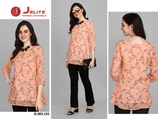 Jelite Georgette Tunics Vol 1 Tops Wholesale Catalog 6 Pcs 5 510x383 - Jelite Georgette Tunics Vol 1 Tops Wholesale Catalog 6 Pcs