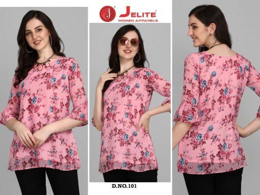 Jelite Georgette Tunics Vol 1 Tops Wholesale Catalog 6 Pcs 7 510x383 - Jelite Georgette Tunics Vol 1 Tops Wholesale Catalog 6 Pcs