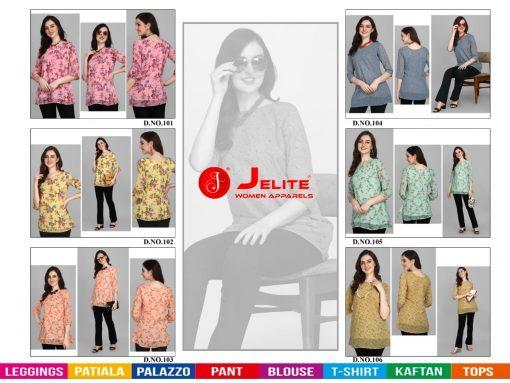 Jelite Georgette Tunics Vol 1 Tops Wholesale Catalog 6 Pcs 8 510x383 - Jelite Georgette Tunics Vol 1 Tops Wholesale Catalog 6 Pcs