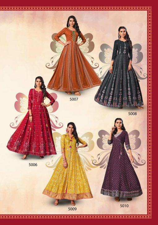 Kajal Style Fashion Colorbar Vol 5 Kurti Wholesale Catalog 10 Pcs 13 510x725 - Kajal Style Fashion Colorbar Vol 5 Kurti Wholesale Catalog 10 Pcs