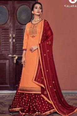 Kalarang Black Berry Vol 5 by Kessi Salwar Suit Wholesale Catalog 4 Pcs