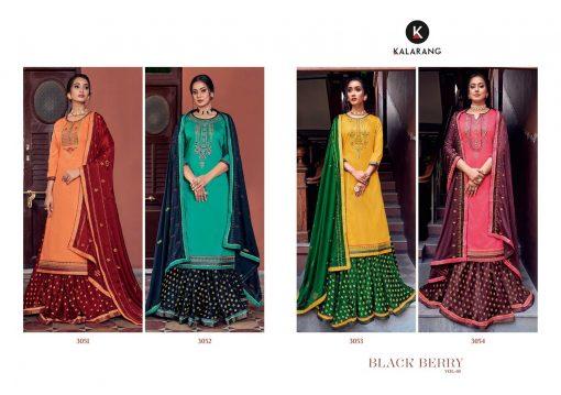 Kalarang Black Berry Vol 5 by Kessi Salwar Suit Wholesale Catalog 4 Pcs 8 510x359 - Kalarang Black Berry Vol 5 by Kessi Salwar Suit Wholesale Catalog 4 Pcs