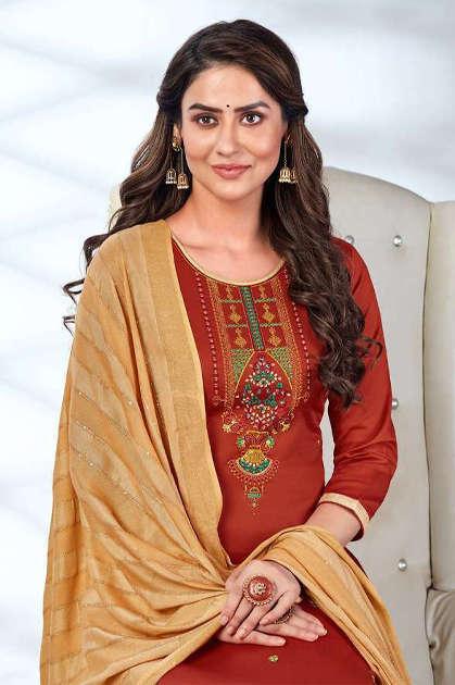 Kalarang Saloni Vol 7 by Kessi Salwar Suit Wholesale Catalog 4 Pcs