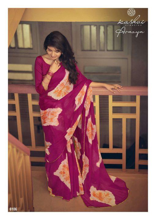Kashvi Aranya by Lt Fabrics Saree Sari Wholesale Catalog 10 Pcs 14 510x719 - Kashvi Aranya by Lt Fabrics Saree Sari Wholesale Catalog 10 Pcs
