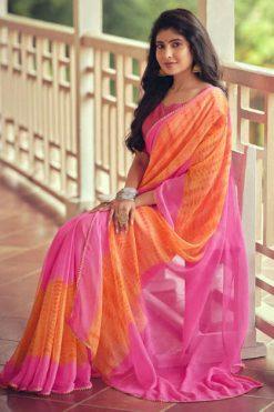 Kashvi Aranya by Lt Fabrics Saree Sari Wholesale Catalog 10 Pcs