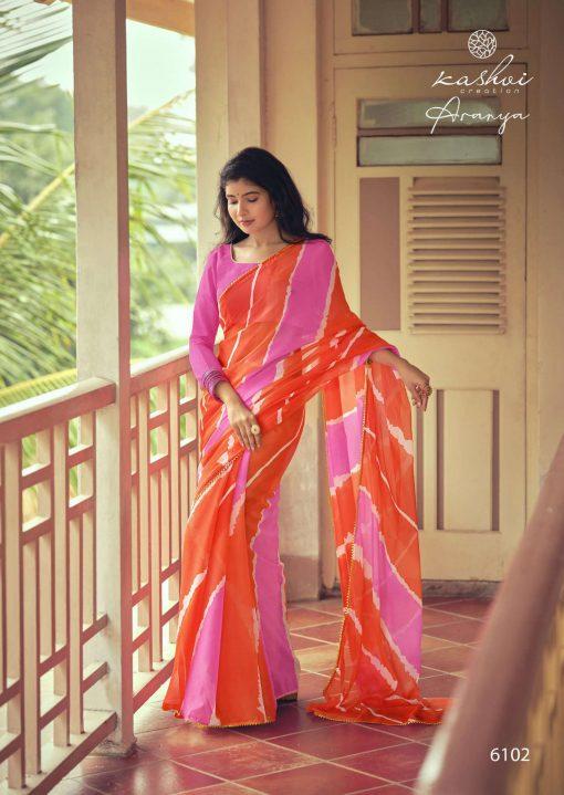 Kashvi Aranya by Lt Fabrics Saree Sari Wholesale Catalog 10 Pcs 5 510x719 - Kashvi Aranya by Lt Fabrics Saree Sari Wholesale Catalog 10 Pcs