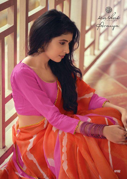 Kashvi Aranya by Lt Fabrics Saree Sari Wholesale Catalog 10 Pcs 6 510x719 - Kashvi Aranya by Lt Fabrics Saree Sari Wholesale Catalog 10 Pcs