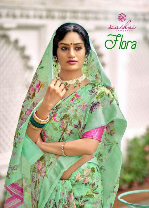 Kashvi Flora by Lt Fabrics Saree Sari Wholesale Catalog 10 Pcs 1 510x714 - Kashvi Flora by Lt Fabrics Saree Sari Wholesale Catalog 10 Pcs