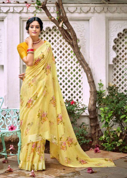 Kashvi Flora by Lt Fabrics Saree Sari Wholesale Catalog 10 Pcs 16 510x714 - Kashvi Flora by Lt Fabrics Saree Sari Wholesale Catalog 10 Pcs