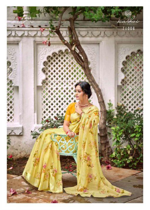 Kashvi Flora by Lt Fabrics Saree Sari Wholesale Catalog 10 Pcs 17 510x714 - Kashvi Flora by Lt Fabrics Saree Sari Wholesale Catalog 10 Pcs