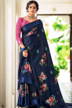 Kashvi Flora by Lt Fabrics Saree Sari Wholesale Catalog 10 Pcs
